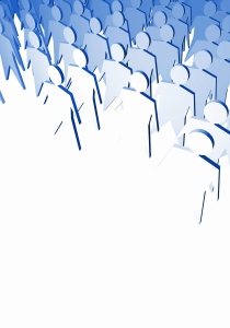 Tłum ujednolica jednostki w jedną, nieobliczalną masę.