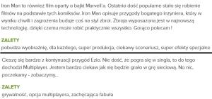 Oto opinie, jakie internauci uznali za pomocne. I wszystko jasne. Druga została zamieszczona jeszcze przed premierą komentowanego produktu...
